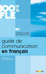 100% FLE Guide de communication en francais učebnice + mp3