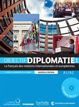 Objectif Diplomatie 1 - Livre de l´éleve - Nouvelle Edition (učebnice + CD)