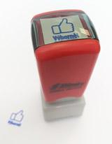 Samobarvící razítko palec nahoru - Výborně!