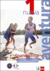 Aventura nueva 1 A1-A2 učebnice s pracovním sešitem + CD MP3