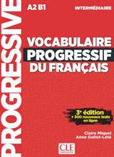 VOCABULAIRE PROGRESSIF DU FRANCAIS: NIVEAU INTERMEDIAIRE 3. edice+CD+Appli-web
