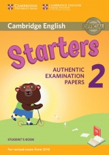 Cambridge English Young Learners 2 for revised exam from 2018 Starters Student´s Book