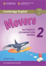 Cambridge English Young Learners 2 for revised exam from 2018 Movers Student´s Book