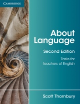 About Language, Tasks for Teachers of English (2nd Edition)