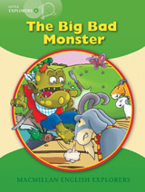 Little Explorers A The Big Bad Monster Big Book