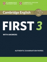 Cambridge English: First (FCE) 3 Student´s Book with Answers