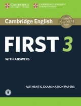 Cambridge English: First (FCE) 3 Student´s Book with Answers & Audio Download
