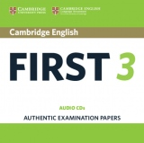 Cambridge English: First (FCE) 3 Audio CDs (2)