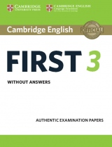 Cambridge English: First (FCE) 3 Student´s Book without Answers