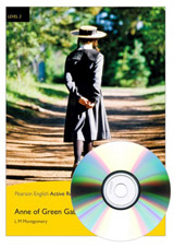 Pearson English Active Readers 2 Anne of Green Gables Book + MP3 Audio CD / CD-ROM
