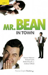 Pearson English Readers 2 Mr Bean in town Book