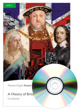 Pearson English Readers 3 A History of Britain + MP3 Audio CD