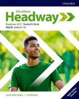New Headway Fifth Edition Beginner Student´s Book B with Student Resource Centre Pack