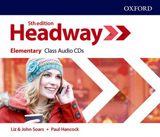 New Headway Fifth Edition Elementary Class Audio CDs (3)