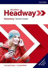 New Headway Fifth Edition Elementary Teacher´s Book with Teacher´s Resource Center