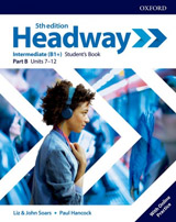 New Headway Fifth Edition Intermediate Student´s Book B with Student Resource Centre Pack