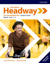 New Headway Fifth Edition Pre-Intermediate Student´s Book A with Student Resource Centre Pack