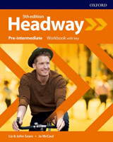 New Headway Fifth Edition Pre-Intermediate Workbook with Answer Key
