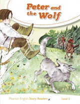 Pearson English Story Readers 3 Peter and the Wolf