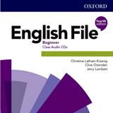 English File Fourth Edition Beginner Class Audio CDs (5)