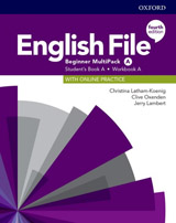English File Fourth Edition Beginner Multipack A with Student Resource Centre Pack