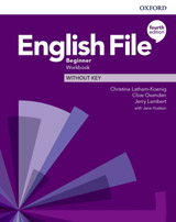 English File Fourth Edition Beginner Workbook without Answer Key