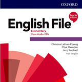 English File Fourth Edition Elementary Class Audio CDs (5)