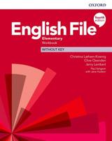English File Fourth Edition Elementary Workbook without Answer Key