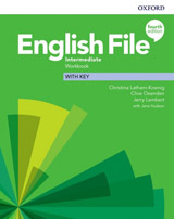 English File Fourth Edition Intermediate Workbook with Answer Key