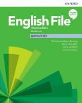 English File Fourth Edition Intermediate Workbook without Answer Key