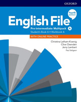 English File Fourth Edition Pre-Intermediate Multipack A with Student Resource Centre Pack