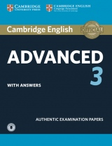 Cambridge English: Advanced (CAE) 3 Student´s Book with Answers & Audio Download