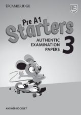 Pre A1 Starters 3 Authentic Examination Papers Answer Booklet