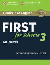 Cambridge English: First for Schools 3 Student´s Book with Answers