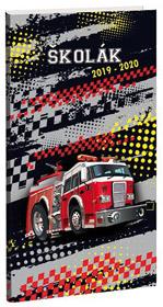 Diář  Školák Fire fighters