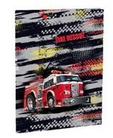 Desky na abecedu Fire fighters