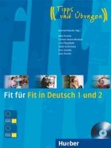 Fit für Fit in Deutsch 1 und 2 + CD