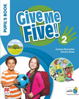 Give Me Five! Level 2 Pupil´s Book Pack