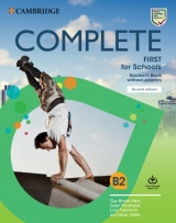 Complete First for Schools (2nd Edition) Student´s Book without Answers with Online Practice