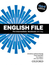 English File Pre-Intermediate (3rd Edition) Workbook with Answer Key