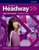 New Headway Fifth Edition Upper Intermediate Workbook with Answer Key