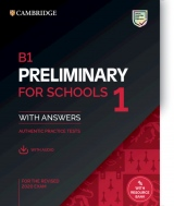 B1 Preliminary for Schools (PET4S) (2020 Exam) 1 Student´s Book with Answers & Audio Download