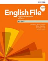 English File Fourth Edition Upper Intermediate Workbook with Answer Key