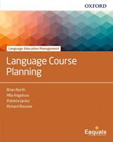 Language Education Management: Language Course Planning