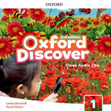 Oxford Discover Second Edition 1 Class Audio CDs (3)