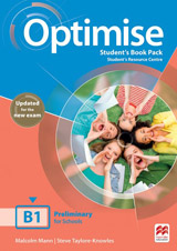 Optimise B1 Updated Student´s Book Pack