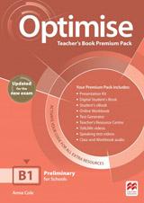 Optimise B1 Updated Teacher´s Book Premium Pack