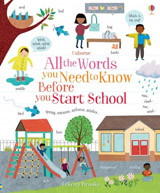 All the words you need to know before you start school