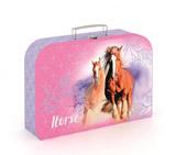 Kufřík lamino 34 cm kůň