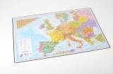 Podložka na stůl 60x40cm oboustranná ČR - Evropa